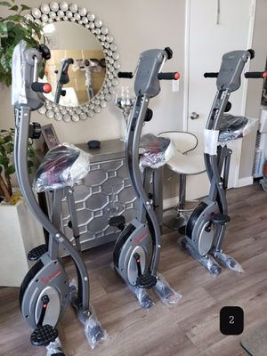 Brand New Sunny Foldable Exercise Bike with Arm Exerciser for Sale in Los Angeles, CA