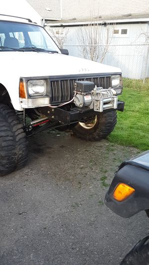 Xj stubby front winch bumper for Sale in Gresham, OR