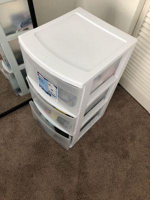 Plastic drawer for Sale in Miami, FL