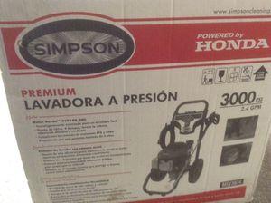 Simpson Pressure Washer 3000psi 2.4 GPM for Sale in Revere, MA