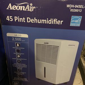 Dehumidifier 45 Pint - Programabale for Sale in Metuchen, NJ
