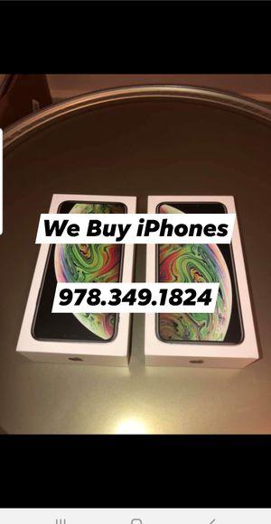 iPhone 7,8,X for Sale in Tewksbury, MA