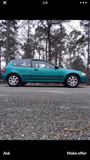 1994 Honda Civic dx hatchback for Sale in Arcola, TX