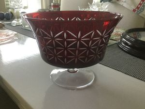Partylite glass bowl for Sale in San Diego, CA