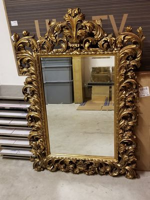 Mirame' Mirror with Antique Gold Finish for Sale in Tamarac, FL