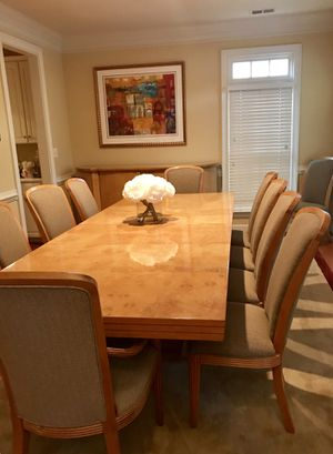 Moving Sale....Designer Dining Room Set from the Omni Collection for Sale in Rockville, MD