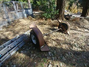 Trailer axle with fenders for Sale in Crestline, CA