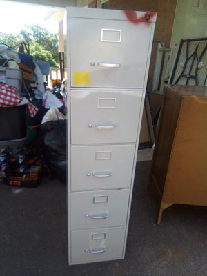 5 Drawer Filing Cabinet for Sale in Liberty, SC