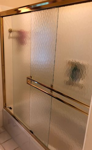 Gold sliding door for Sale in Grove City, OH
