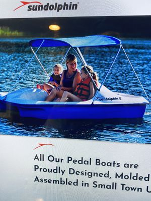 Sundolphin 5 Pedal Boat for trade. I need a small aluminum boat. for Sale in Gloucester, MA