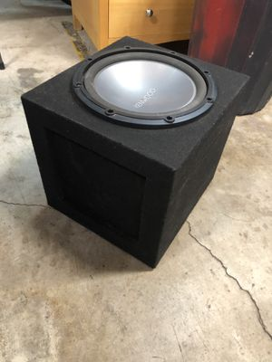 12 inch Kenwood Subwoofer with Box. for Sale in Brea, CA