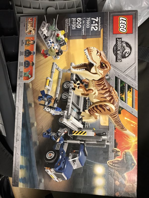 Lego T. rex transport never opened