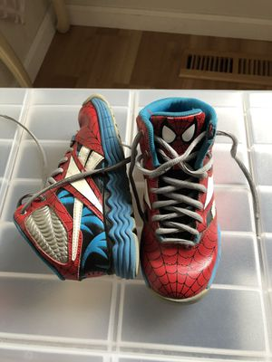 Reebok Spider-Man shoes kids size 13 for Sale in San Jose, CA