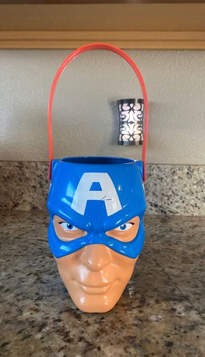 Captain America Bucket for Sale in San Diego, CA
