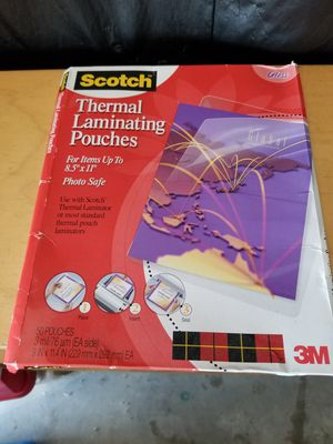 Laminating pouches for Sale in Houston, TX