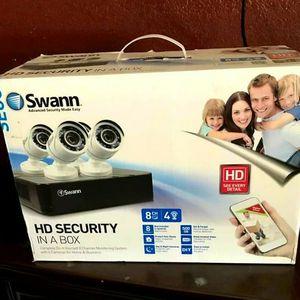 4 Security cameras System+labor- Hablo Espanol for Sale in Fort Worth, TX