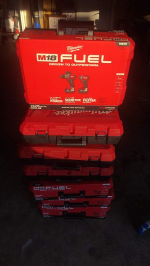 Milwaukee m18 Fuel 2-Drill Kits PRICE FOR EACH PRECIO PARA CADA UNO for Sale in Las Vegas, NV