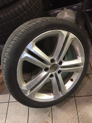One vw GLI wheel and tire 5x112 for Sale in Chevy Chase, MD