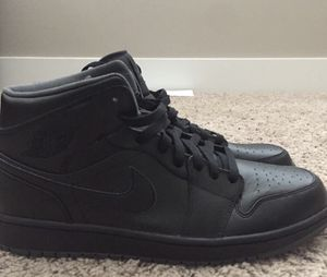 Jordan 1 Size 12 ALL BLACK for Sale in Tampa, FL