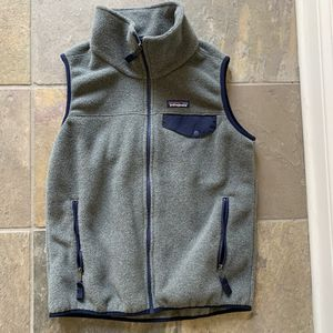 Patagonia Lightweight Synchilla Snap-t Vest S Grey Sz Small for Sale in Chicago, IL