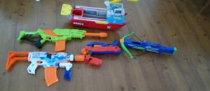 4 NERF GUNS & THE PAW PATROL BOAT for Sale in Tamarac, FL