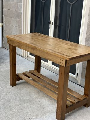 Handmade wooden desk for Sale in Bethel Park, PA