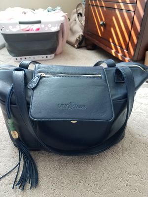 Genuine Leather Purse Diaper Bag for Sale in Federal Way, WA