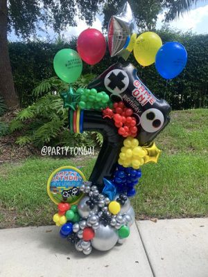 Game Balloons Bouquet 🕹🖥⌨️🎈Globos para Cumpleaños 🎈 Birthday Balloons Bouquet for Sale in Opa-locka, FL