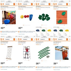 NEW Lot of playground swing-set toys! for Sale in Eagan, MN