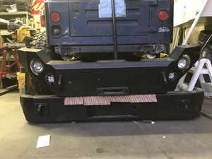 Body Armor 4x4 winch bumpers for Sale in Running Springs, CA