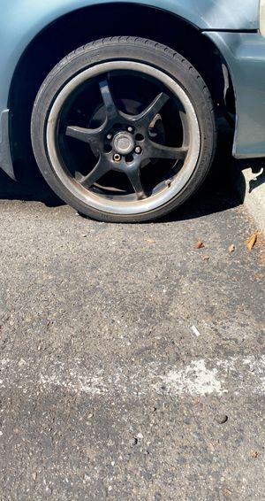 18' black rims and tires for Sale in Bellevue, WA