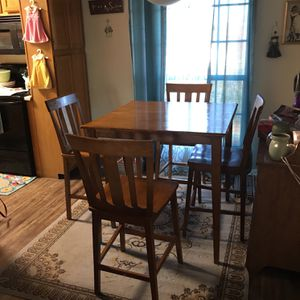 Dining Room Table W/4 Chairs for Sale in Chandler, AZ