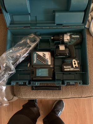 Makita brushless hammer drill driver 18volts for Sale in Los Angeles, CA