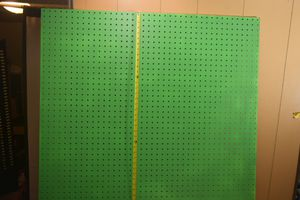 Pegboard - GREEN for Sale in Lakewood, OH