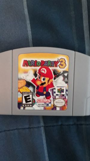 Mario Party 3 N64 for Sale in Bakersfield, CA