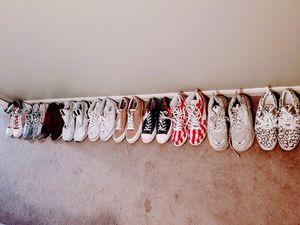 Used shoes,yeezy's,balenciagas,neil barrett,vans,nike,converse for Sale in Baton Rouge, LA