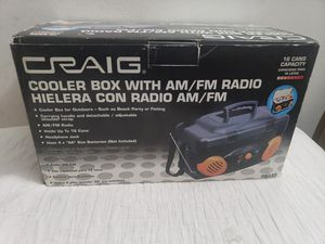 Craig Cooler Box With Am/Fm Radio DB330 for Sale in Downey, CA
