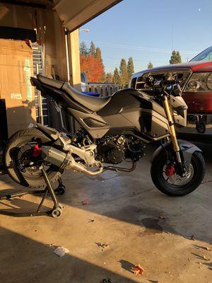 2018 HONDA GROM (960 miles) for Sale in Glenwood, OR