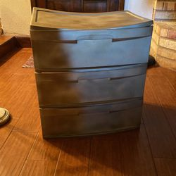 Sterilite 3 Drawer Storage Container for Sale in Waco,  TX