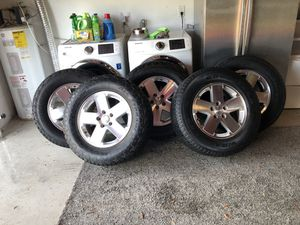 Tires and Wheel Jeep Wrangler for Sale in Clearwater, FL