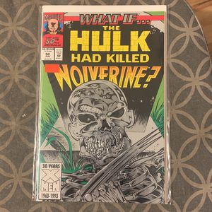 Marvel Comic Book What If Hulk for Sale in Upland, CA