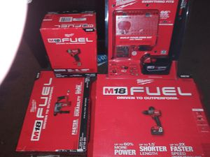 Milwaukee m18 fuel set for Sale in Antioch, CA