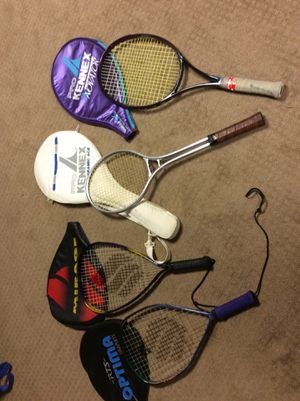 Racket ball and tennis rackets for Sale in Columbus, OH