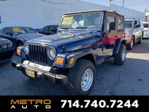 2000 Jeep Wrangler for Sale in La Habra, CA