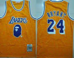 Bape Kobe Lakers Jersey for Sale in Virginia Beach, VA