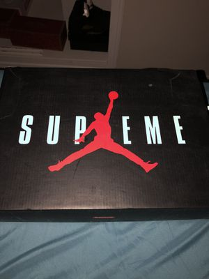 Jordan x Supreme 5's for Sale in Redondo Beach, CA