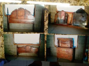 96 yr vintage antique bedroom furniture for Sale in Upper Saint Clair, PA