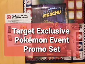 Pokemon: Target Exclusive Detective Pikachu Event Promo Set...2019 for Sale in Chesilhurst, NJ