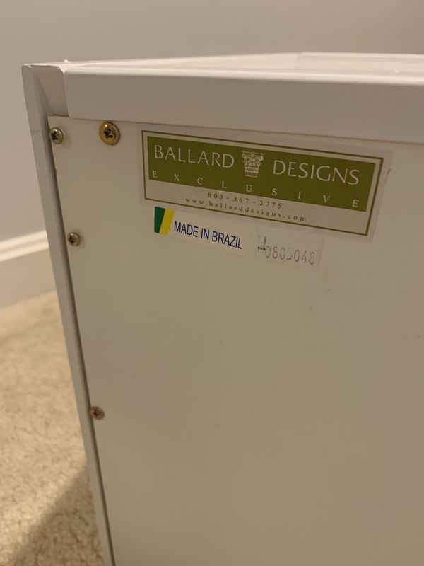 Ballard Designs Abbeville Desk Top Storage Cabinet
