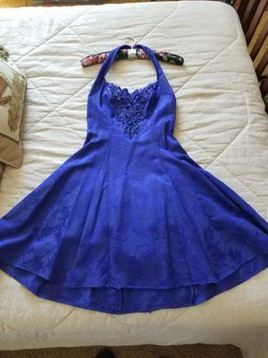 """Dress """"Ladies Fashionable Royal Blue Flowered Cocktail or Prom Dress"""" size 9/10 (I have other dresses and sizes, click my name/listings underneath) for Sale in Orlando, FL"""